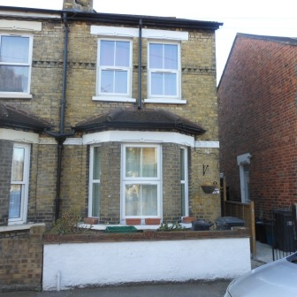 Brick Cleaning, Croydon – Before