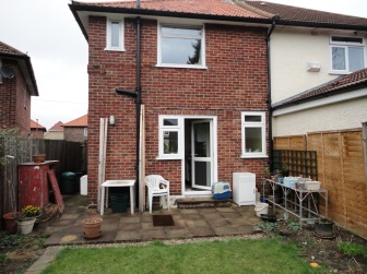 Conservatories, Sutton – Before